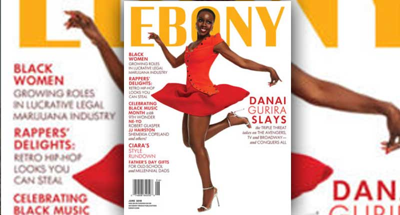 Danai Gurira Stuns on the June Issue of Ebony Magazine