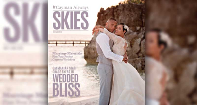 'Empire' Stars Grace and Trai Byers Covers May/June 'Cayman Airways Skies' Magazine