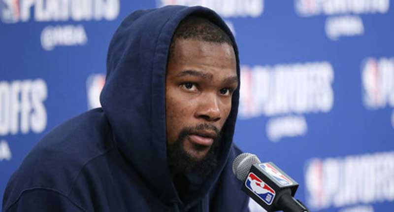 Kevin Durant Inspired by 4AM Text from Teammate