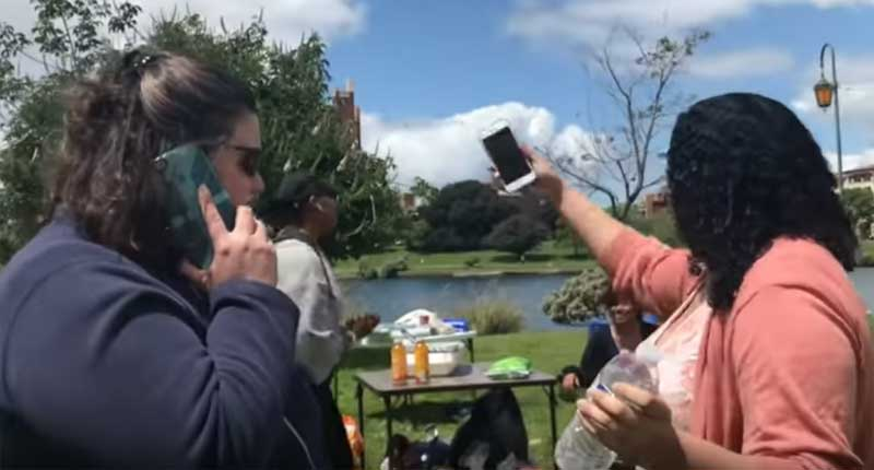 White Woman Called Out for Racially Targeting Black Family Having BBQ in Oakland