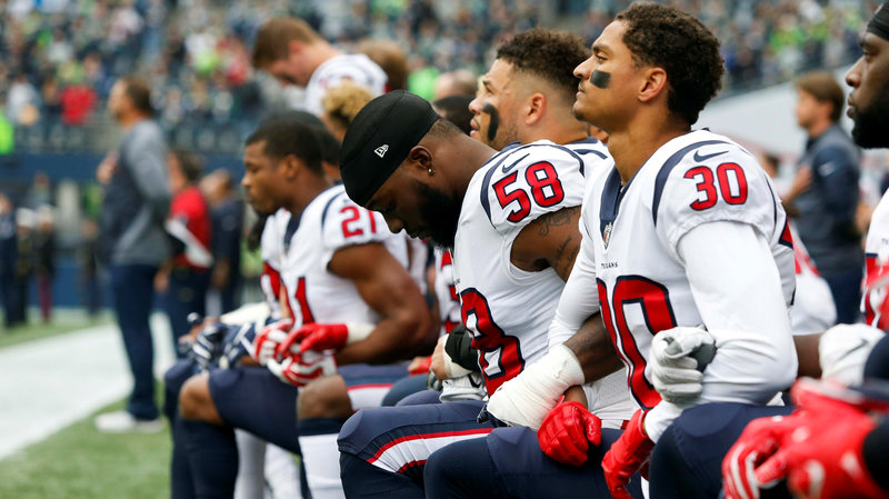 NFL New Law Will Fine Players Who Take a Knee During the National Anthem