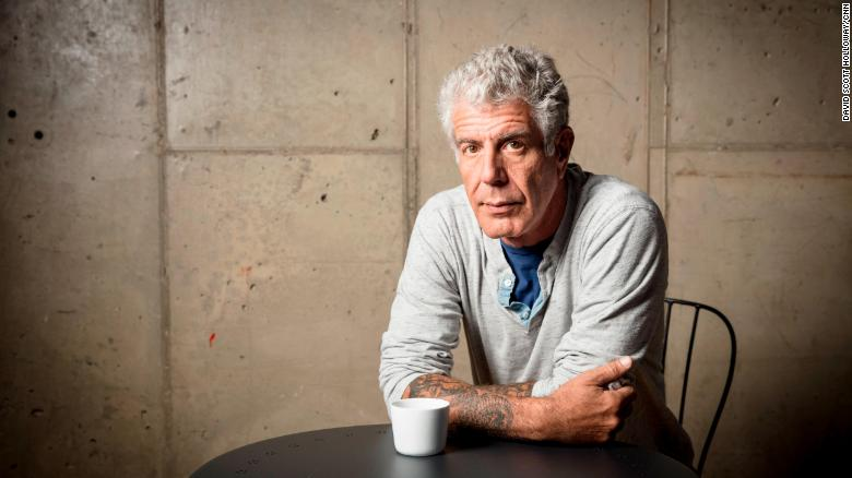 Anthony Bourdain Dead at 61