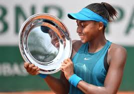 "Cori ""Coco"" Gauff Becomes Youngest Girls Champion in 24 Years"