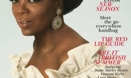 Oprah Covers Vogue Magazine