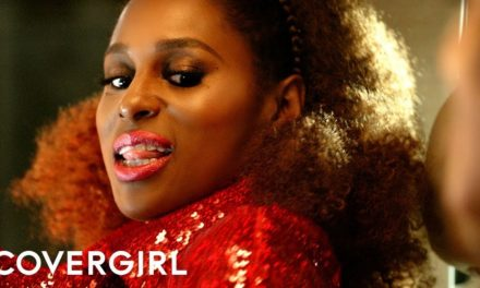 Issa Rae Debuts COVERGIRL'S Exhibitionist Lipstick
