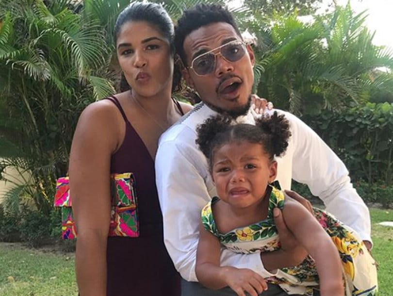 Chance the Rapper Proposes to Girlfriend