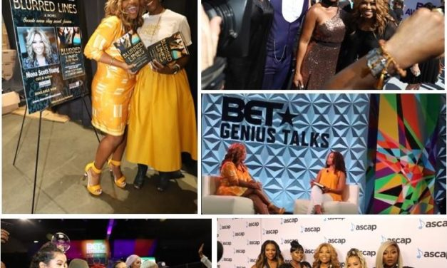 "MEDIA MOGUL MONA SCOTT-YOUNG CELEBRATES LAUNCH OF MONAMI DIRECT AND RELEASE OF DEBUT NOVEL ""BLURRED LINES"" DURING WHIRLWIND WEEKEND AT BET EXPERIENCE"