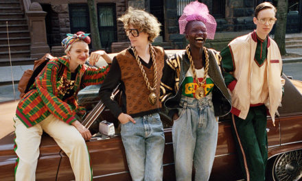 The Gucci x Dapper Dan Clothing Collection Has Arrived