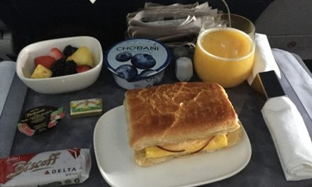 Delta Is Testing Out 3-Course Meals For Economy Class