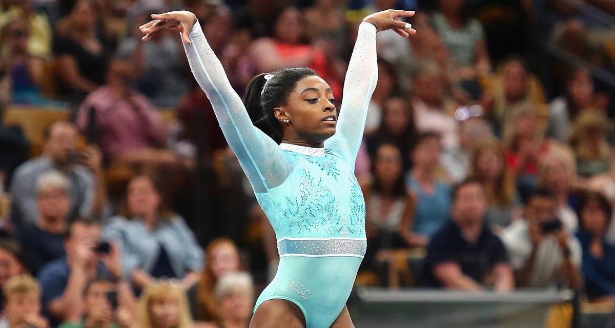 Simone Biles Wins All Five Titles at National Championships