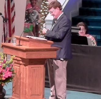 Alabama Pastor Cuts Up Nike Gear During Sermon