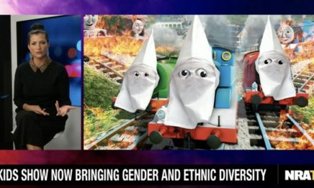 NRA TV depicts 'Thomas & Friends' characters in KKK hoods