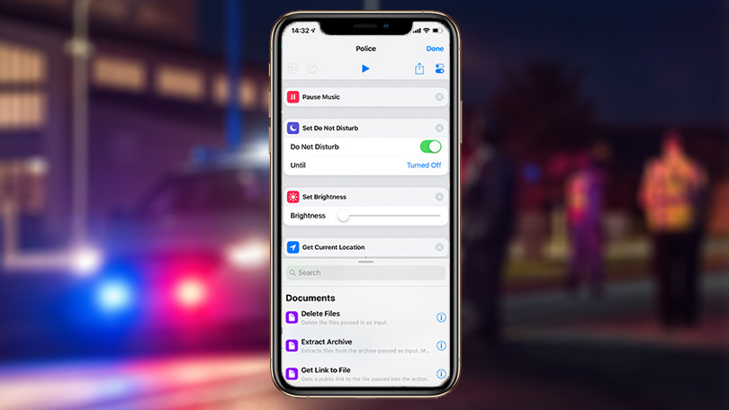A New Shortcut for iPhones Can Automatically Record the Police