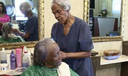 99-Year-Old Beautician Callie Terrell Still Doing Hair, Will Retire on 100th Birthday