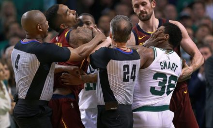 Celtics' Marcus Smart and Cavaliers' J.R. Smith Fined