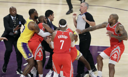 Lakers' Brandon Ingram and Rajon Rondo suspended; Rockets' Chris Paul suspended
