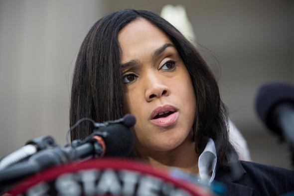 Baltimore Cops Want to Sue State Attorney Marilyn Mosby For Charging Them in the Death of Freddie Gray