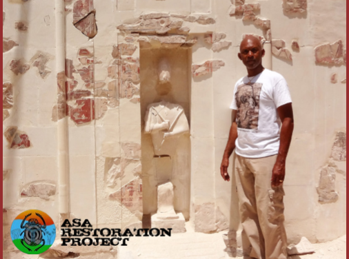 Anthony Browder makes history as the first African American to Lead and Fund an Archeological Excavation Project in Egypt