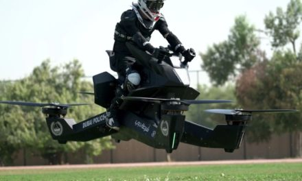 Dubai Police Start Training on Flying Motorbikes