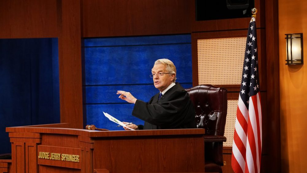 Jerry Springer Returning to Television as 'Judge Jerry'