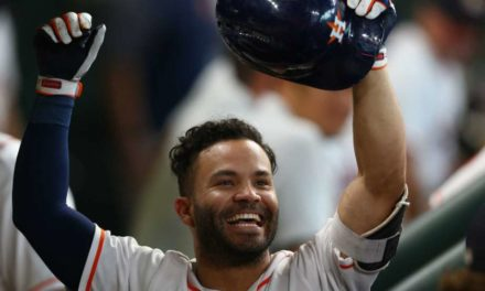 Houston Astros' Jose Altuve Wins Fifth Consecutive Al Silver Slugger Award
