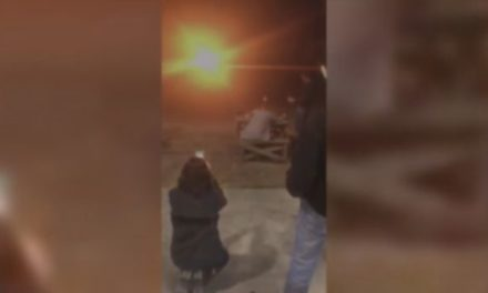 Texas Woman Blows Up Wedding Dress to Celebrate Divorce