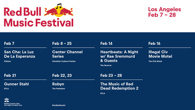 RED BULL MUSIC FESTIVAL RETURNS TO LOS ANGELES