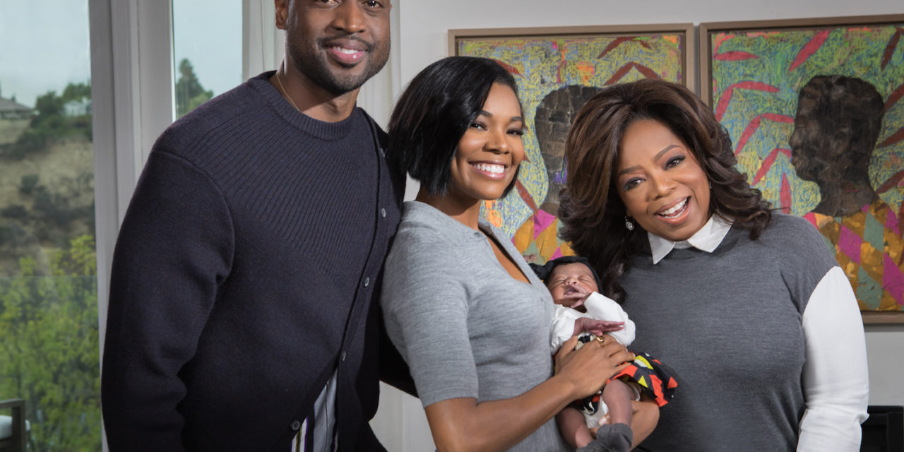 FIRST LOOK FROM OPRAH WINFREY'S INTERVIEW WITH ACTRESS GABRIELLE UNION AND NBA STAR DWYANE WADE