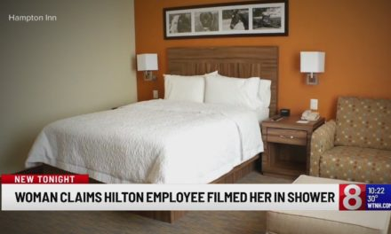 Woman Sues Hilton for $100M, Claiming She Was Secretly Filmed in the Shower and Blackmailed