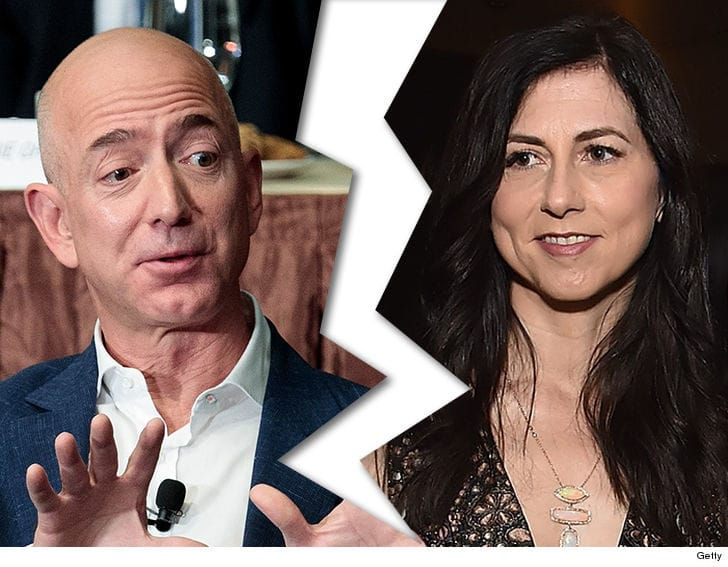 Amazon CEO Jeff Bezos and Wife MacKenzie Divorcing After 25 Years