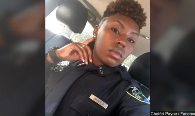 Newly hired officer shot dead as she was getting ready for work