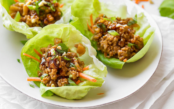 Lettuce Wraps are the Perfect Low-Carb Vehicle for Chicken