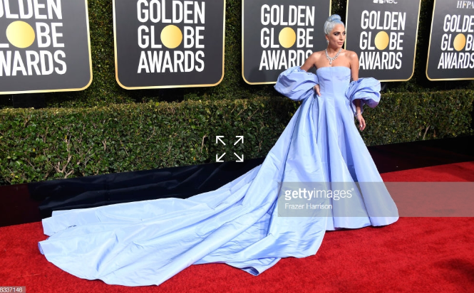 LADY GAGA SHINES IN OVER 100 CARATS OF RADIANT TIFFANY & CO. DIAMONDS  AT THE 76TH GOLDEN GLOBE AWARDS