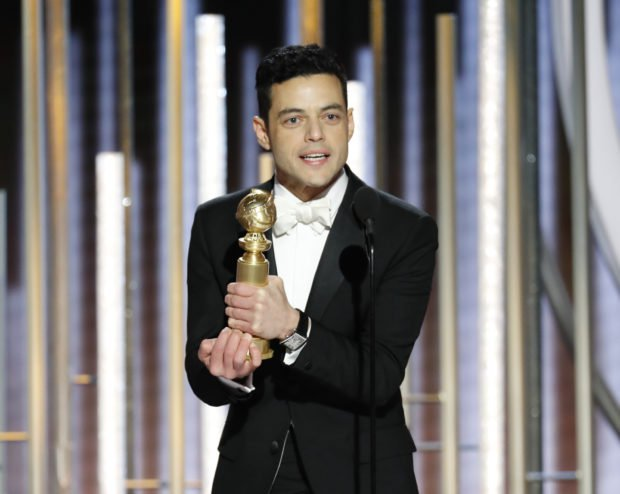 'Bohemian Rhapsody' upsets 'Star Is Born' at Globes