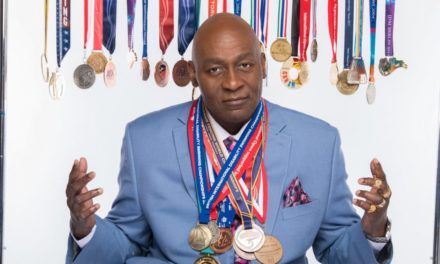 Five-Time Paralympian Curtis Lovejoy Officially Inducted Into The Atlanta Sports Hall of Fame