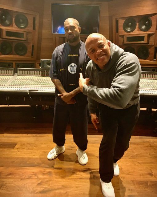 Kanye West and Dr. Dre Working on 'Jesus Is King Part II' Project
