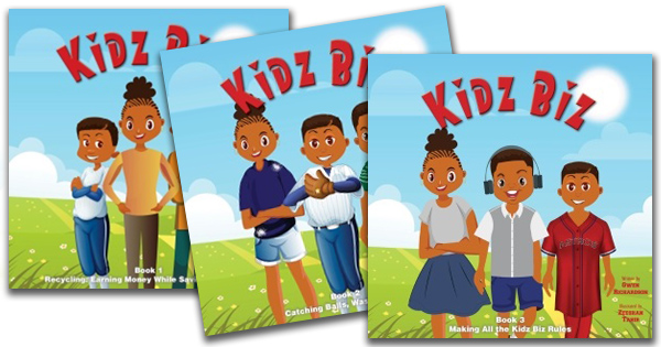 Kidz Biz Book Series Plants Seed of Entrepreneurship in the Next Generation
